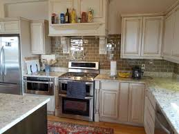white kitchen cabinets with brown granite countertops datenlabor