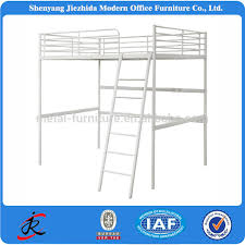 3 Level Bunk Bed Hotel Dorm 3 Levels Iron Bed 3 Sleepers Metal Bunk Bed Triple Bed