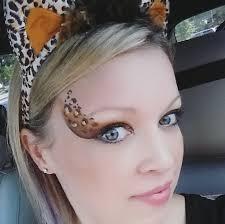 cheetah eye design painting tutorial
