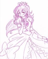 princess peach by kamon san on deviantart