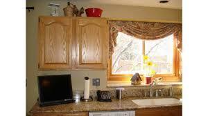 rideaux cuisine idées de rideaux de fenêtre de cuisine