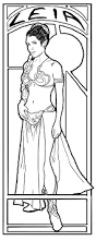 princess leia coloring pages glum me