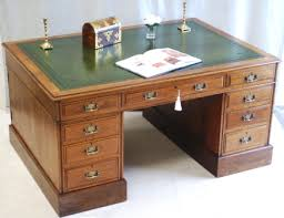 Antique Desks For Home Office A Partners Desk Could Be A Stylish Solution For Your Home Office