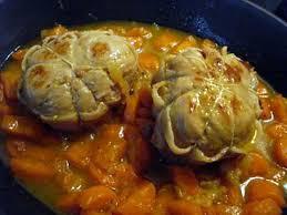 recette de paupiettes de veau carottes