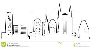 Downtown Nashville Map Cartoon Nashville Stock Photo Image 20947430