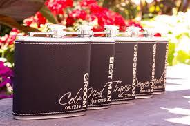and groom flasks best groomsmen gifts mens wedding style