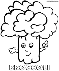 broccoli coloring pages coloring pages to download and print