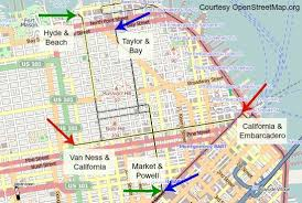 cable car san francisco map cable cars in san francisco history routes tips