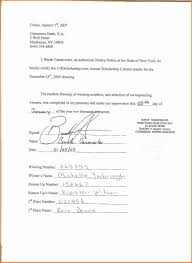 doc 585590 notary template u2013 notarized letter templates 27 free