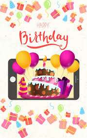 a trendy style of greeting cards for mobile amolink