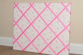 Pin Boards How To Make A Ribbon Memo Board Sippy Cup Mom