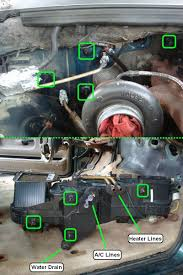 1995 dodge ram 2500 removing dashboard replacing evaporator 1995 2500 dodge