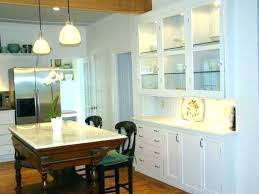 Built In Kitchen Cabinet Built In Cabinet Images Colored Light Strips In Custom Built