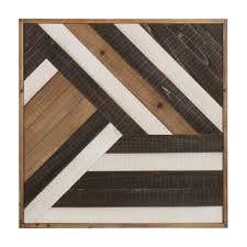 geometric wood wall geometric wood wall for less overstock
