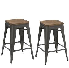 bar stools bar stool with backrest black silver color tested for