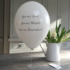 balloon delivery peoria il eco friendly funeral balloon release kit contents 10 x white 12
