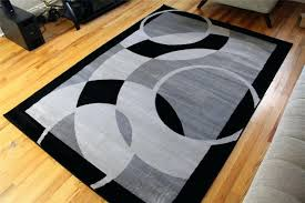 Black And White Area Rugs For Sale Gray And White Area Rug Rugs Comfort Shag Carpet 4