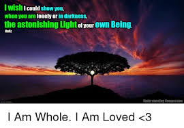 Light Show Meme - iwish icould show you when you are lonely or in darkness the