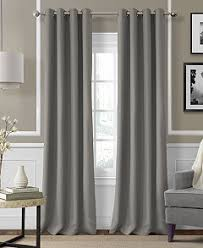 Picture Window Treatments Elrene Essex Linen Window Treatment And Decorative Pillow