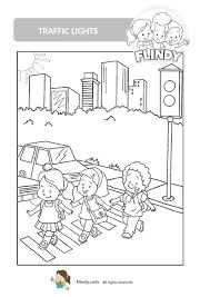 traffic light coloring page traffic sign coloring pages decimamas