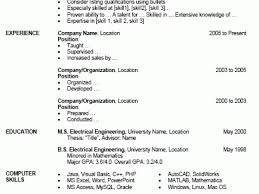 14 american resume template organizational skills and