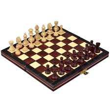 amazon chess set amazon com travel magnetic chess set w wooden 9 25