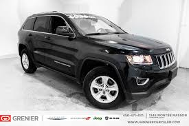 cherokee jeep 2016 black used 2016 jeep grand cherokee bas km 4x4 v6 garantie black 44 304