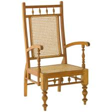 early 20th century colonial sri lankan satinwood garden chair for