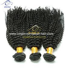 European Weave Hair Extensions by Zhihui Luxury Hand Made 8a Virgin Brazilian Curl Human Hair