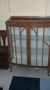 Antique Curio Cabinet With Desk Antique Curio Cabinet Antique Curio Cabinet Pinterest