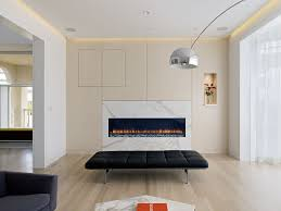white oak floors living room modern with black leather bench black