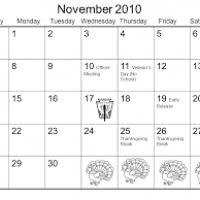 thanksgiving 2010 calendar yagen space