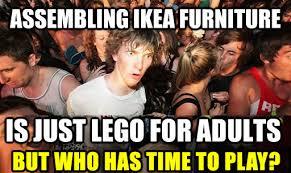 Ikea Furniture Meme - anyassembly ikea team furniture assembly washington dc assemble