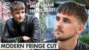 fringe cut hairstyle men u0027s hair trends 2017 new hair fashion