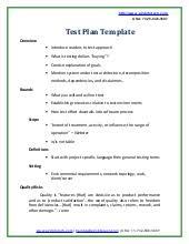 Excel Test Plan Template Ecommerce Website Testing Checklist