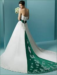 green wedding dress a green wedding gown