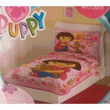 Dora Comforter Set Dora The Explorer Bedding Lovetoknow