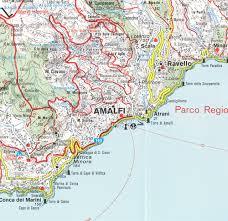 Mia Airport Map Amalfi Coast Sorrento Peninsula Italy 1 50 000 Hiking Map Gps