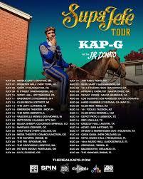 kap g u0026 j r donato supajefe tour tickets vinyl music hall