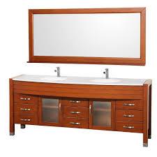 78 Bathroom Vanity Wyndham Collection Daytona 78 In Vanity In Cherry With