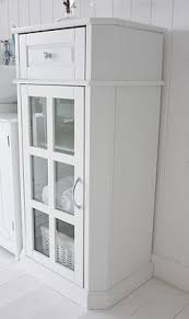 Freestanding White Bathroom Furniture Wonderful Free Standing Bathroom Corner Cabinets Freestanding In