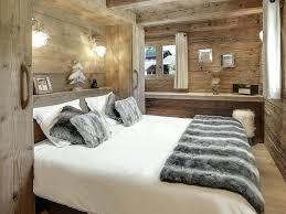 deco chambre chalet montagne intérieur de la maison rideaux chalet montagne deco chambre