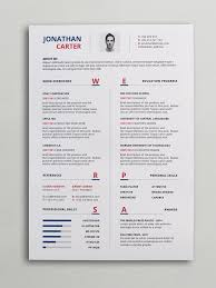 Modern Word Resume Templates Modern Resume Template Psd Word Cv Modern