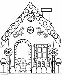 house drawings for kids to color free printable house coloring