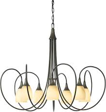 dining room exciting chandelier with hubbardton forge for modern