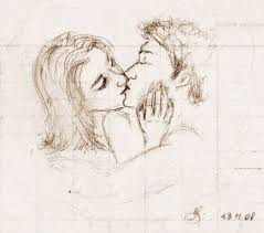 best 25 drawings of couples kissing ideas on pinterest love