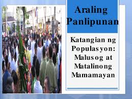 katangian ng populasyon documents