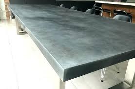 zinc table tops for sale zinc table top metal topped tables natural zinc and patina zinc