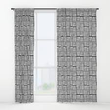 Scandinavian Shower Curtain by Printmaking Window Curtains Society6