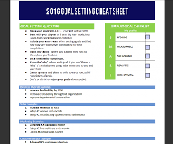Setting Worksheets Goal Setting For Your Business Milestone Accounting Erp